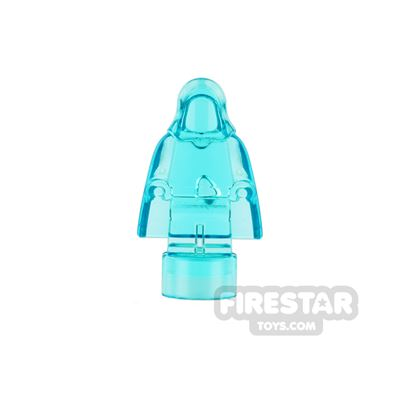 LEGO Minifigure Statuette with Cape and Hood