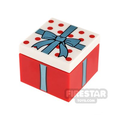 LEGO Present Gift with Blue Bow