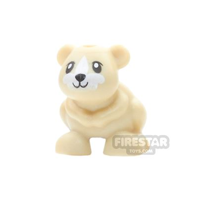 LEGO Animals Mini Figure - Hamster - Tan