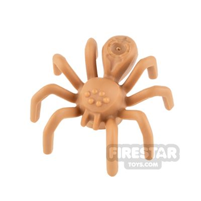 LEGO Animals - Spider with Elongated Abdomen - Medium Dark Flesh