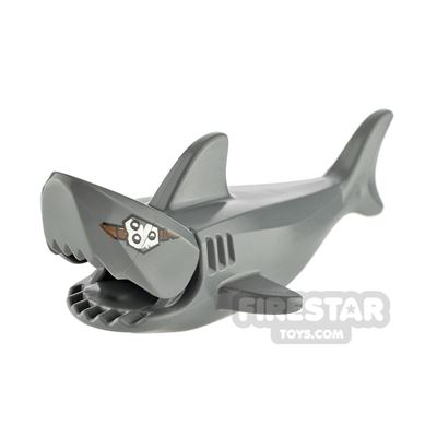 LEGO Animals Minifigure Shark with Gills and Metal Plate