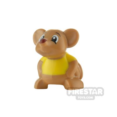 LEGO Animals Minifigure Mouse with Shirt