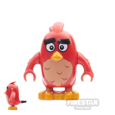 LEGO Angry Birds Mini Figure - Red - Wide Eyes