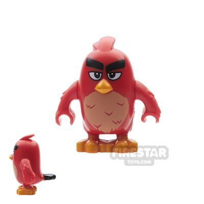 LEGO Angry Birds Mini Figure - Red - Oval Eyes