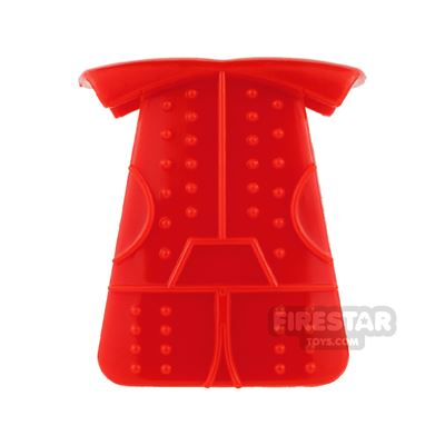 BrickTW - Ching Dynasty Armour - Red