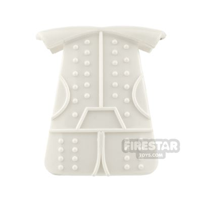 BrickTW - Ching Dynasty Armour - White