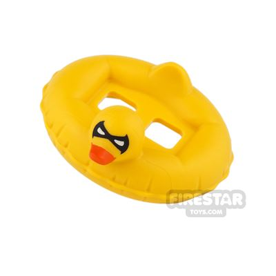 LEGO - Duck Rubber Ring with Batman Mask