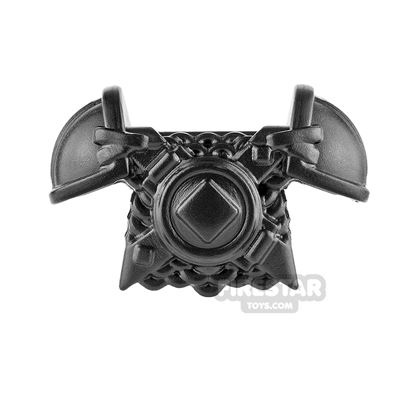 BrickWarriors - Viking Armour - Black