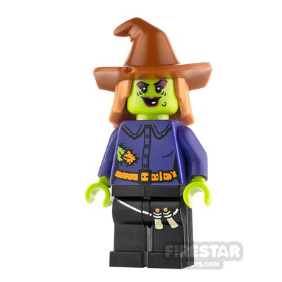 LEGO Minifigure Old Spooky Witch
