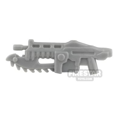 BrickForge - Gears of War - Shredder Gun - Silver