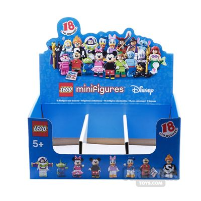 LEGO - Disney Minifigures Collectable Shop Display Box