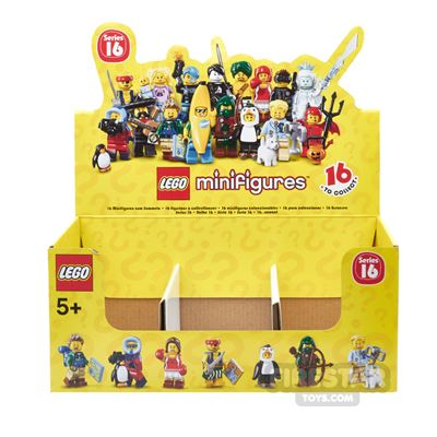 LEGO - Minifigures Series 16 Collectable Shop Display Box