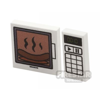 Printed Tiles 1x2 And 2x2 - Microwave and Controller