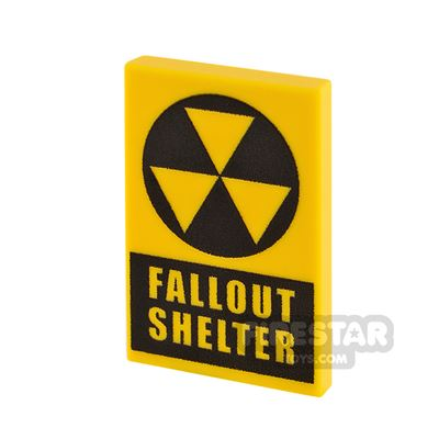 Printed Tile 2x3 Fallout Shelter