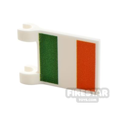 Printed Flag with 2 Holders 2x3 Irish Flag