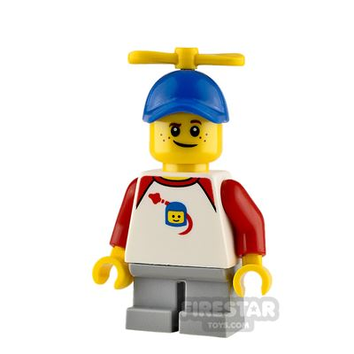LEGO City Minifigure Boy with Propeller Hat