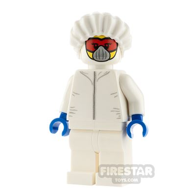 LEGO City Minifigure Drone Engineer White Jumpsuit