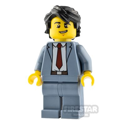 LEGO City Minifigure Reporter with Suit