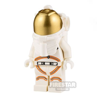 LEGO City Minifigure Astronaut with White Spacesuit