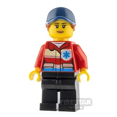 LEGO City Minifigure Ski Patrol Red Jacket
