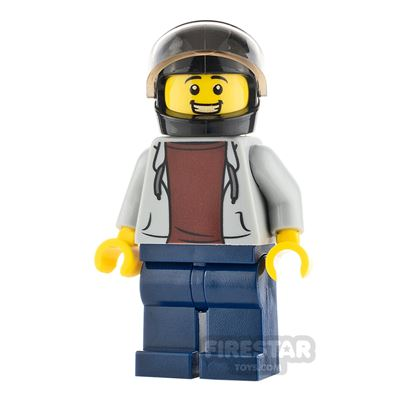 LEGO City Minifigure Pizza Delivery Guy