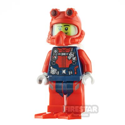 LEGO City Minfigure Scuba Diver Male