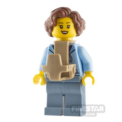 LEGO City Minfigure Mum with Baby Carrier