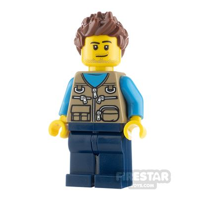 LEGO City Minfigure Father with Vest