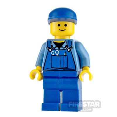 LEGO City Minifigure Overalls and Tools