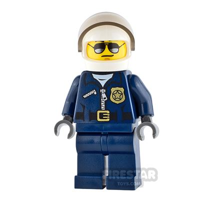 LEGO City Minifigure Helicopter Pilot Black Eyebrows
