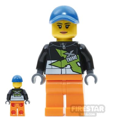 LEGO City Mini Figure - Powerboat Driver Female