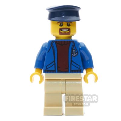 LEGO City Mini Figure - Deep Sea Captain