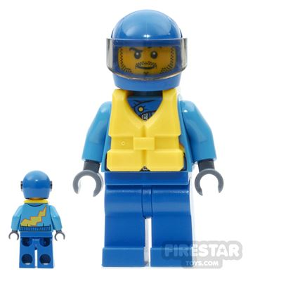 LEGO City Mini Figure - Race Boat Driver