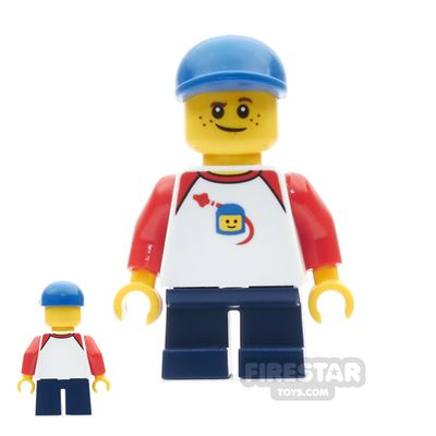 LEGO City Mini Figure - Boy With Freckles And Classic Space Shirt
