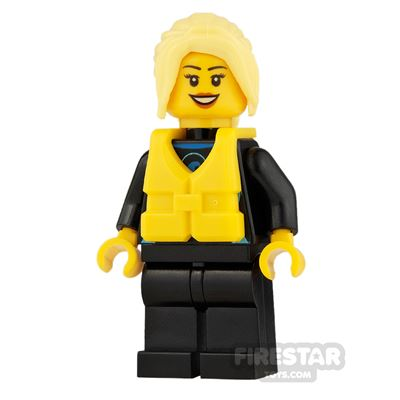 LEGO City Mini Figure - Windsurfer
