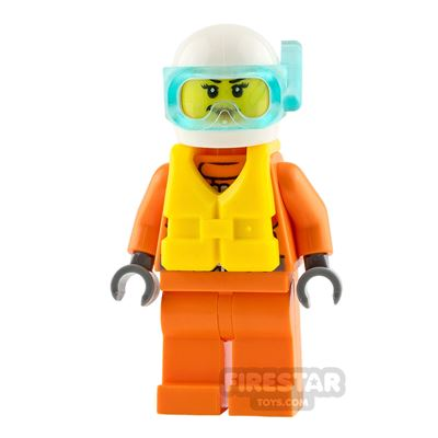 LEGO City Minifigure Female Rescuer