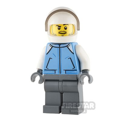 LEGO City Mini Figure - Helicopter Pilot