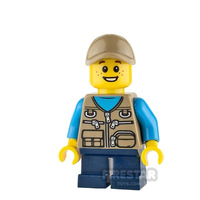 LEGO City Mini Figure - Camper - Male Child