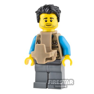 LEGO City Mini Figure - Dad with Baby Carrier
