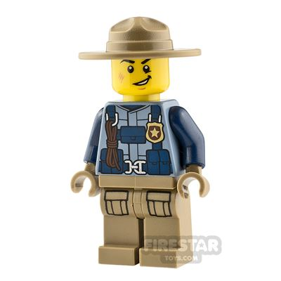 LEGO City Minifigure Mountain Police with Harness