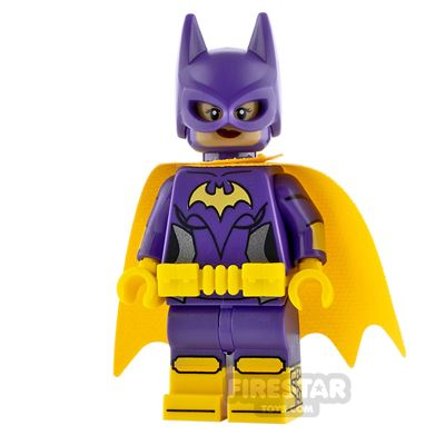 LEGO Dimensions Minifigure Batgirl Smile and Scared