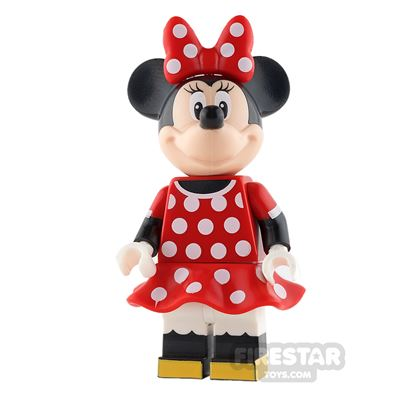 LEGO Disney Princess Mini Figure - Minnie Mouse - Red Polka Dot Dress