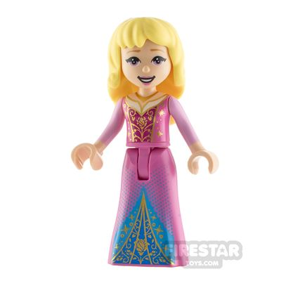 LEGO Disney Princess Minifigure Aurora Filigree Dress