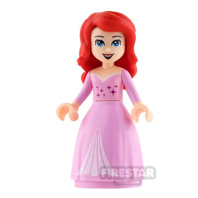 LEGO Disney Princess Mini Figure - Ariel - Puffy Pink Dress