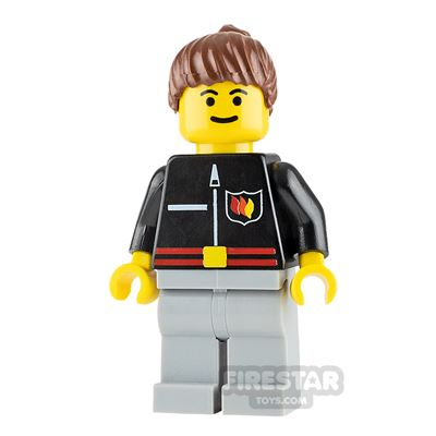 LEGO City Minifigure Fire Flame Badge