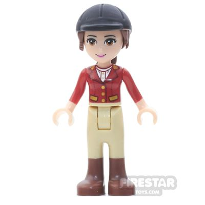 LEGO Friends Mini Figure - Olivia - Tan Riding Pants, Red Jacket
