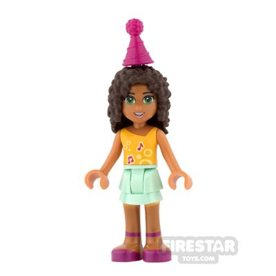LEGO Friends Mini Figure - Andrea - Party Hat