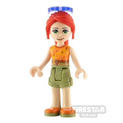 LEGO Friends Minifigure Mia Top with Lightning Bolts