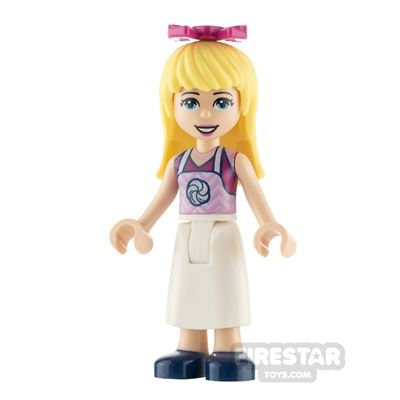 LEGO Friends Minifigure Stephanie Apron with Swirl