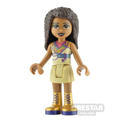 LEGO Friends Minifigure Andrea Gold Boots